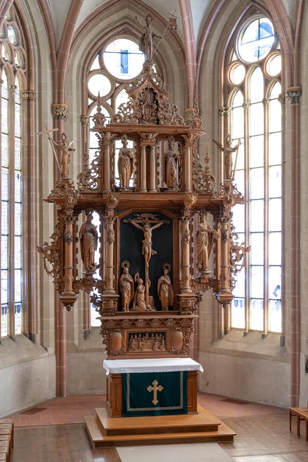 Goslar, Marktkirche, Hauptaltar, 1659, Andreas Gröber zugeschrieben
